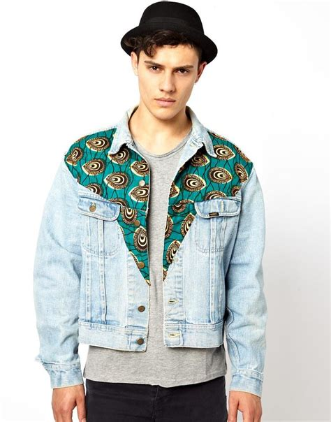 pattern for jeans jacket 17 best images about african print on pinterest asos