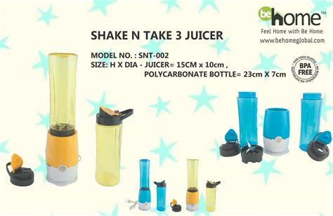 Juicer Shake And Take shake n take 3 juicer snt 002 behome