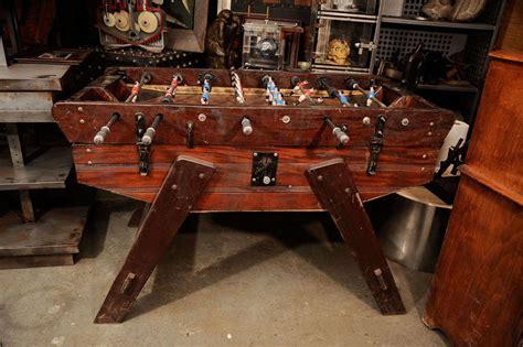 Vintage Foosball Table by Awesome Vintage Foosball Table At 1stdibs