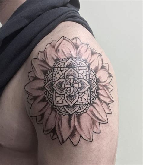 tattoo on outer hand 90 black and white sunflowers tattoo design ideas