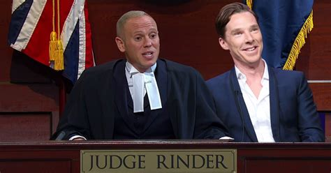 is judge robert rinder married judge rinder was best man at benedict cumberbatch s