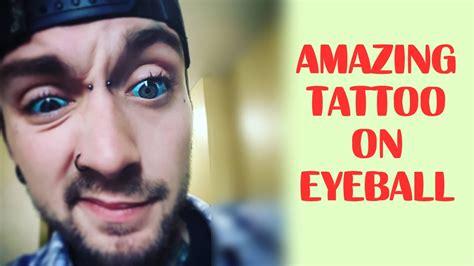 tattoo eyeball youtube amazing tattoo on eyeball tattoo world youtube