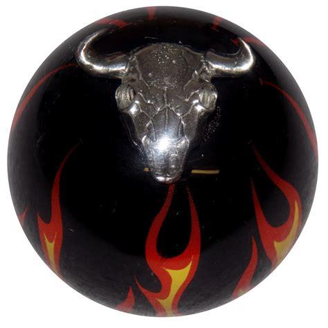black cow skull shift knob