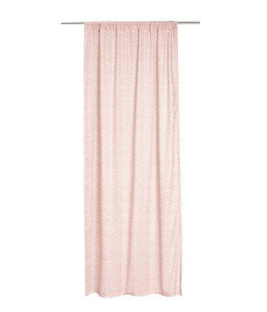 H M Curtains And Curtain Panels On Pinterest