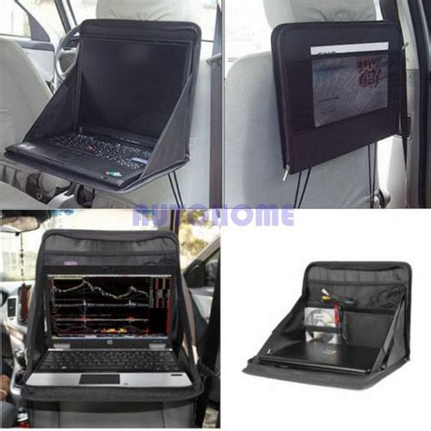 Cot Car Seat Table Organizer 1 x car laptop holder tray bag mount back seat auto table food work desk organizer in stowing