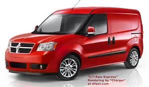 Did Fiat Buy Dodge Fiat Vans To Be Ram Vans Ducato Doblo Iveco Daily