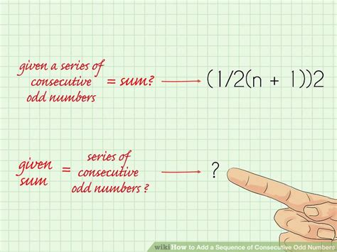 pattern for adding even numbers how to add a sequence of consecutive odd numbers 14 steps