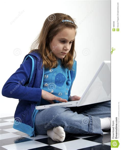 On Your While You Working On The Floor by Computer Homework Royalty Free Stock Photos Image 1880598