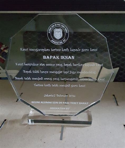 Acrylic Di Jakarta jual plakat acrylic di tanah abang jakarta pusat dki