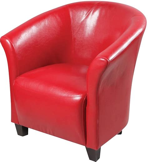 Living Room Swivel Chair Red Accent Chair The Brick