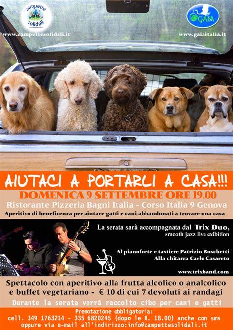 pizzeria bagni italia genova jazz per gli animali abbandonati genova ge 2012