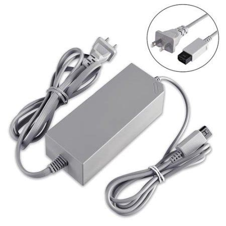 Adaptor Nintendo Wii insten ac power supply cord adapter charger for nintendo wii replacement walmart