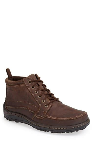 hush puppies boots mens hush puppies bradley belfast boot in brown for lyst