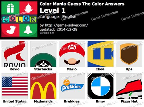 guess the color answers color mania guess the color answers solver