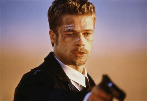 brad pitts haircut in seven seven brad pitt movie quotes quotesgram