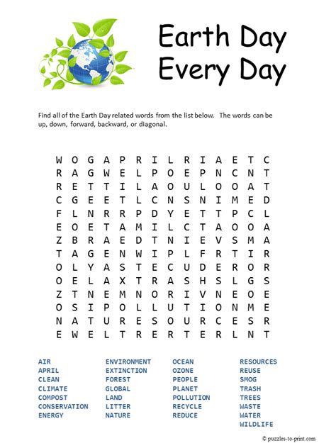 printable word searches for june free printable earth day word search word search april