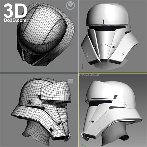 printable star wars helmet 3d printable model hover tank trooper tanker commander