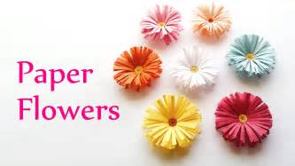 Paper Flower Craft - diy crafts paper flowers daisies innova crafts doovi