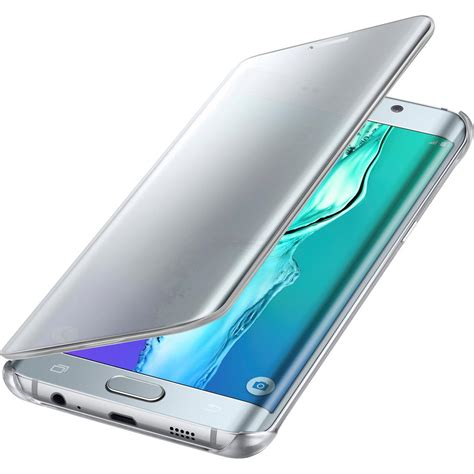 Flipcase Flipcover Samsung S6 Edge samsung galaxy s6 edge plus s view clear flip cover silver cell phones