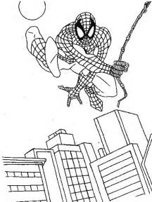 coloring spiderman pages coloring print pages