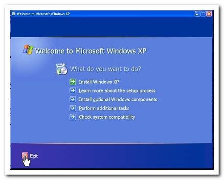 console di ripristino xp console di ripristino di emergenza in windows xp