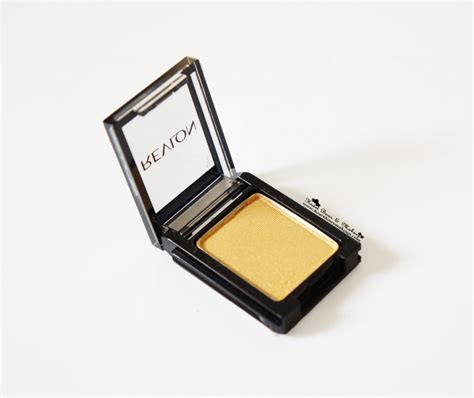 Revlon Shadow revlon colorstay shadow links gold review swatches