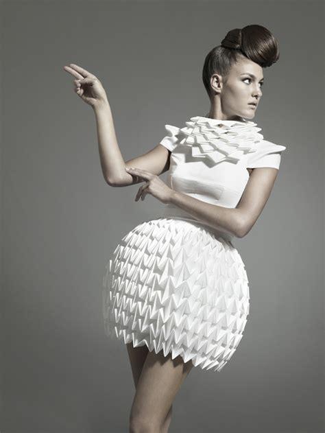 Origami In Fashion - unique origami fashion 2016