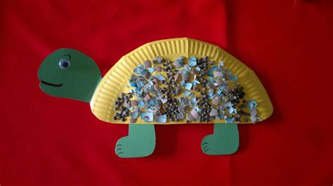 Paper Plate Turtle Craft - paper plate turtle craft