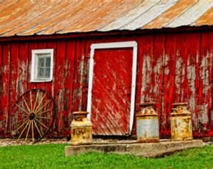 Red Barn Home Decor by Wisconsin Barn Photo Sunrise Nature Photography Fine Art