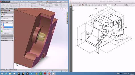 solidworks tutorial cswa egn 3433c solidworks cswa tutorial part modeling ii