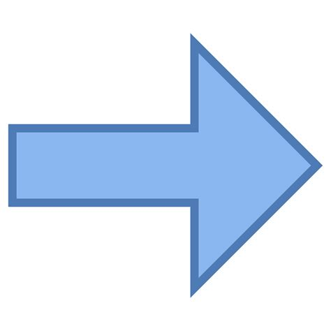 arrow gratis arrow icon free at icons8