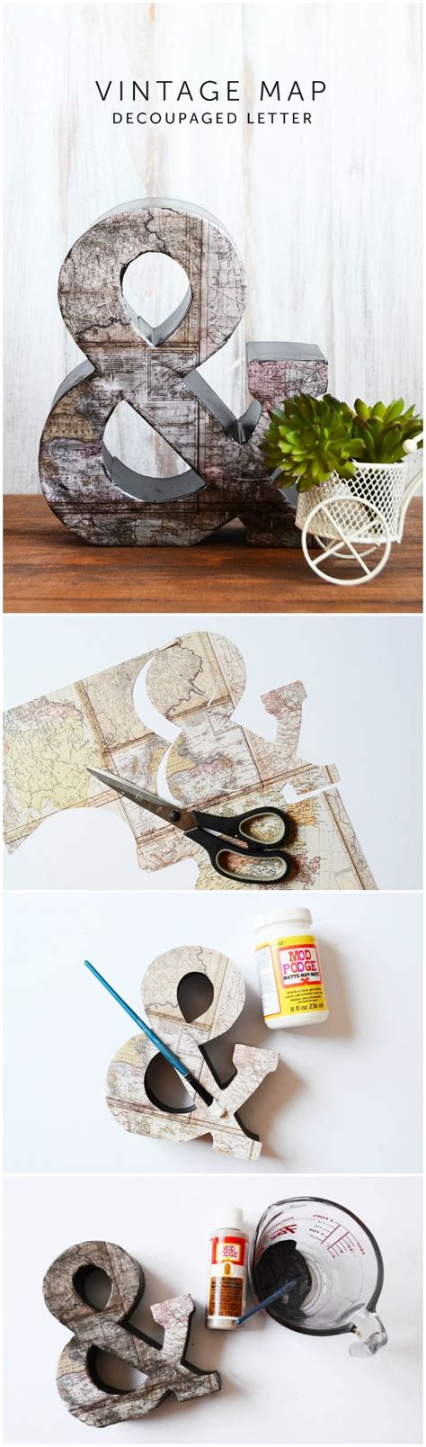 map decor crafts to make your home unique pillar box blue 398 best images about mod podge crafts on pinterest