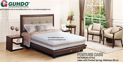 Guhdo Set Kasur Bed Posture Care Virginian Style 120x200 Bed Guhdo Posture Care Style
