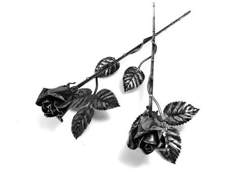 Rosen Lackieren by Geschmiedete Rose Galvanisiert Und Lackiert