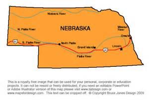 us map nebraska state us state printable maps massachusetts to new jersey
