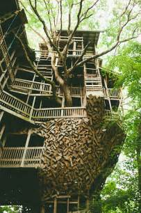 the minister s treehouse a 100ft church built