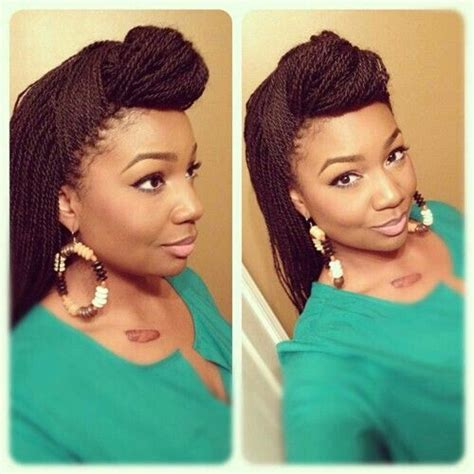 micro briad pin up small senegalese twist braids pinterest twists and