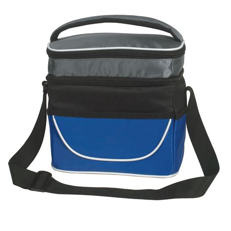 lunch bag custom printed two compartment lunch bag 3523 motivators