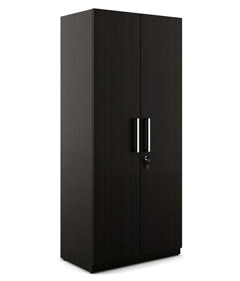 Wardrobes Prices by Spacewood Optima 2 Door Wardrobe Buy At Best Price