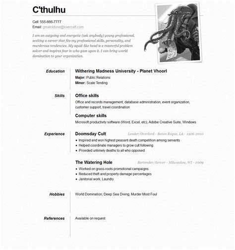 Free One Page Resume Website Template by 15 Best Free Resume Cv Website Templates And Themes