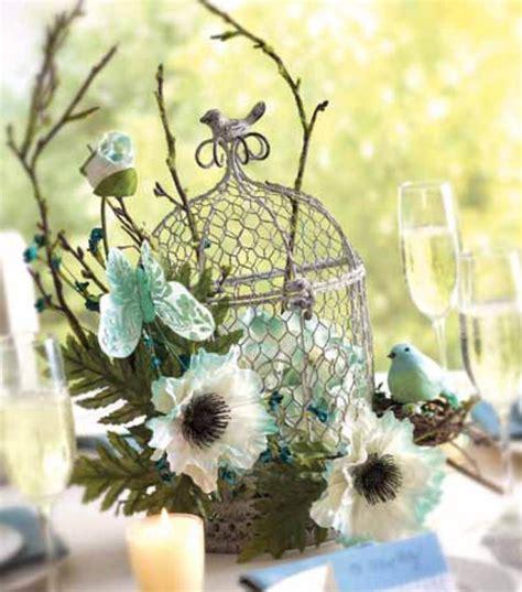 birdcage floral centerpiece 37 unique birdcage centerpieces for weddings