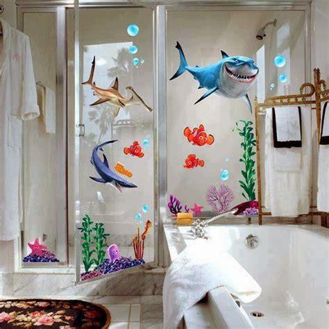 shark tales themed bathroom bathroom blitz pinterest