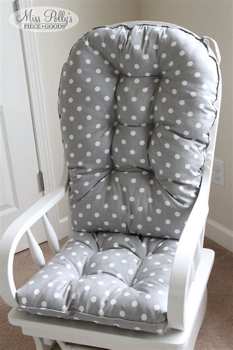 Nursery Rocking Chair Cushions Custom Chair Cushions Glider Cushions Rocking Chair