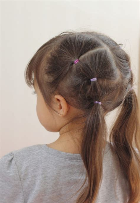 hair styles in two ponies 16 toddler hair styles to mix up the pony tail and simple