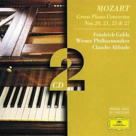 mozart piano concerto mozart piano concerto 20 21 cd covers