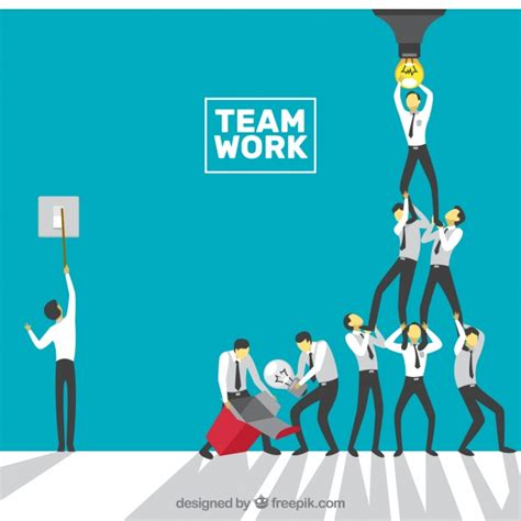 Teamwork Vectors Photos And Psd Files Free Download Free Teamwork Images