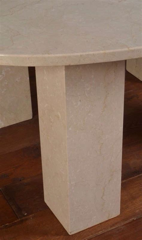 Large Marble Dining Table Large Marble Oval Dining Table For Sale At 1stdibs