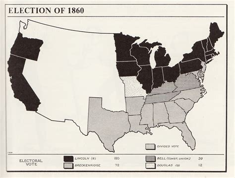 how did the election of 1860 increased sectional tensions sectional crisis exhibit
