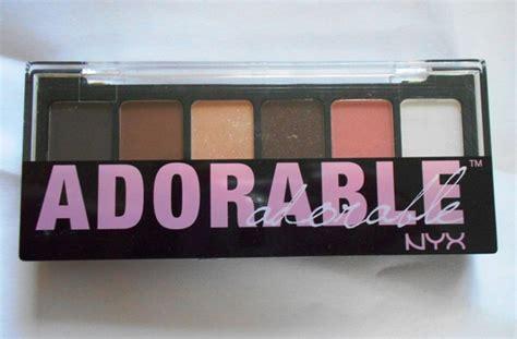 Nyx Adorable Eyeshadow nyx adorable eye shadow palette review
