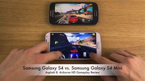 s4 mini vs doodle 2 samsung galaxy s4 vs samsung galaxy s4 mini asphalt 8